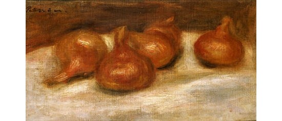 "PIERRE AUGUSTE RENOIR ""Onions"" Print choose your SIZE, from 55cm up"