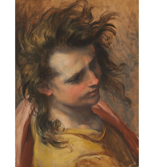 "FEDERICO BAROCCI ""Head of Saint John the Evangelist"" various SIZES available"