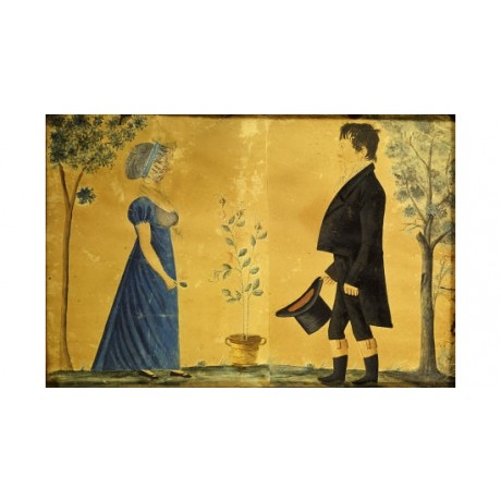 "JACOB MAENTEL ""Johann And Susannah Beard"" PRINT new various SIZES available, NEW"