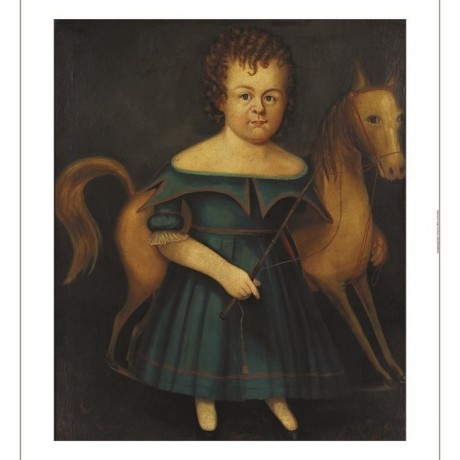 "WILLIAM BARTOLL ""Child With Rocking Horse"" CANVAS PRINT various SIZES, BRAND NEW"