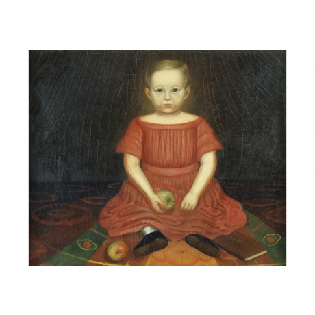 "CHARLES TREADWELL ""Frank Treadwell"" APPLE on CANVAS! various SIZES available"