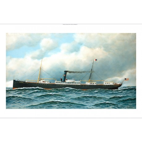 "ANTONIO JACOBSEN ""Nueces"" STEAM SHIP browse our SHOP! various SIZES, BRAND NEW"