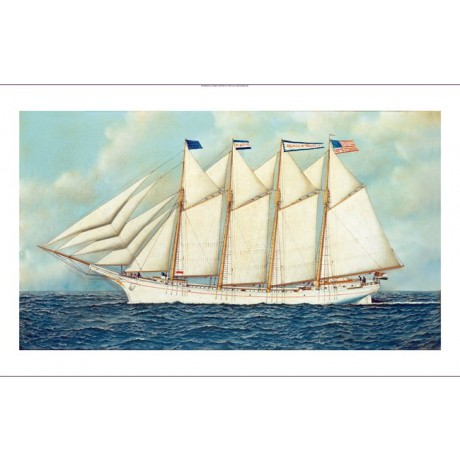 "ANTONIO JACOBSEN ""The George W Truitt Jr"" SHIP CANVAS! various SIZES, BRAND NEW"