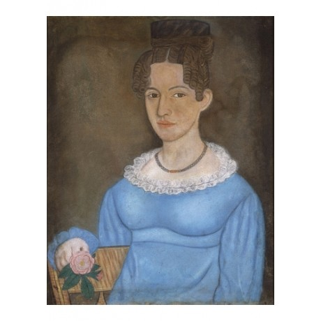 "MICAH WILLIAMS ""Portrait of a Lady"" flower ON CANVAS! various SIZES available"