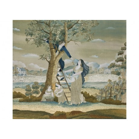 "PHILADELPHIA ""The Cherry Pickers"" TREE on CANVAS print! various SIZES, BRAND NEW"