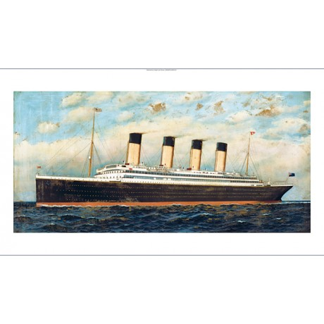 "ANTONIO JACOBSEN ""The Titanic 1911"" SHIP CANVAS PRINT! various SIZES, BRAND NEW"