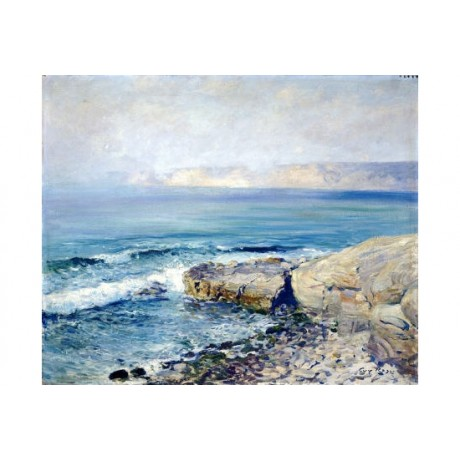 "GUY ROSE ""Incoming Fog, La Jolla"" Art CANVAS EDITION various SIZES available"