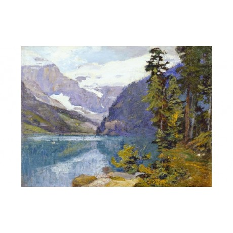 EDWARD HENRY POTTHAST Lake Louise, Alberta ON CANVAS various SIZES available