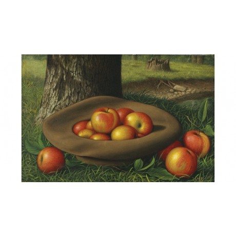 "LEVI WELLS PRENTICE ""Apples In A Brown Hat"" ON CANVAS! various SIZES, BRAND NEW"