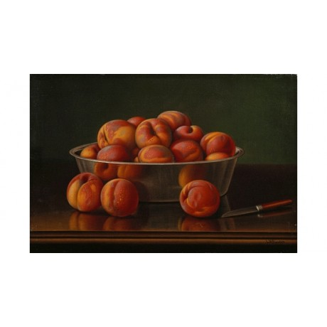 LEVI WELLS PRENTICE PRENTICE Peaches ON CANVAS choose SIZE, from 55cm up, NEW