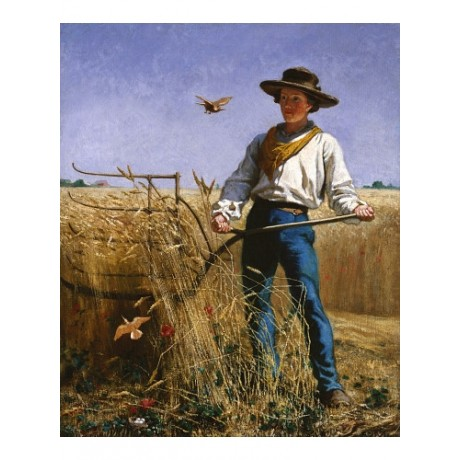 "FRANK BLACKWELL MAYER ""Invasion"" CANVAS ART ! Print various SIZES available, NEW"