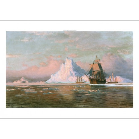 "WILLIAM BRADFORD ""Whalers Off The Coast Of Labrador"" various SIZES available"