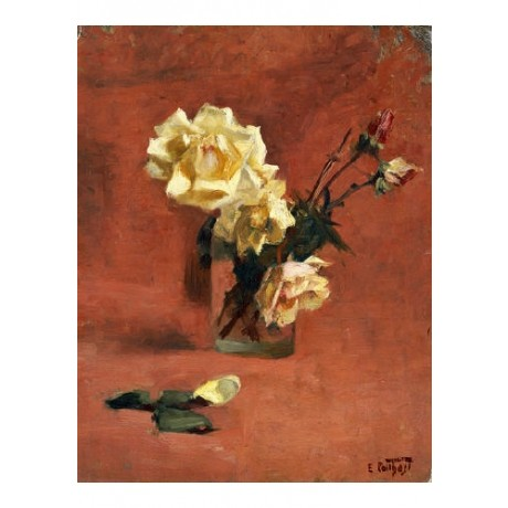 EDWARD HENRY POTTHAST Roses In A Glass Still PRINT New various SIZES, BRAND NEW