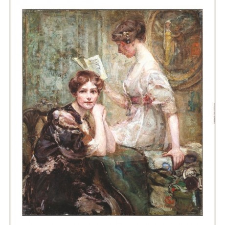 "COLIN CAMPBELL COOPER ""Two Women"" new CANVAS PRINT! various SIZES available, NEW"