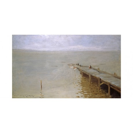 "WILLIAM MERRITT CHASE ""On The Sound"" SEE our eBay SHOP! various SIZES, BRAND NEW"