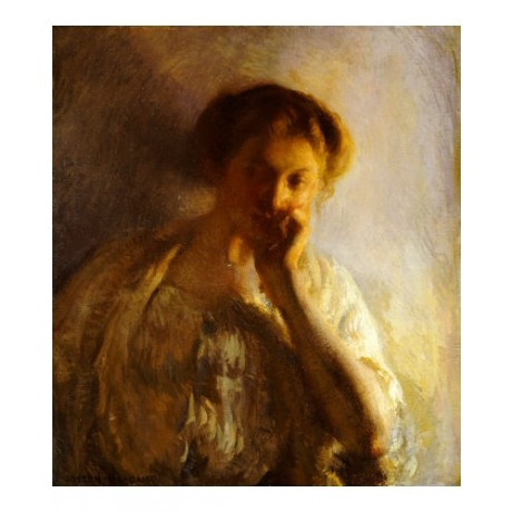 "JOSEPH RODEFER DE CAMP ""Thoughtful One"" CANVAS EDITION various SIZES, BRAND NEW"