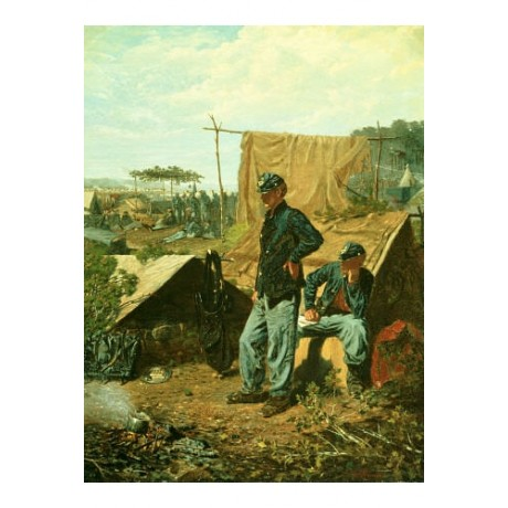 "WINSLOW HOMER ""Home, Sweet Home"" Military Print NEW various SIZES available, NEW"