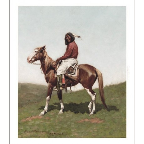 "FREDERIC REMINGTON ""Comanche Brave, Fort Reno"" CANVAS! various SIZES, BRAND NEW"