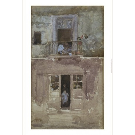 "JAMES MCNEILL WHISTLER ""The Balcony"" new CANVAS PRINT! various SIZES, BRAND NEW"