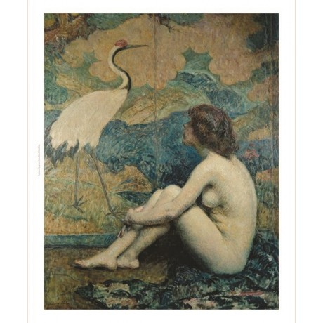 "ROBERT REID ""Japanese Screen"" nude NEW CANVAS print! various SIZES available"
