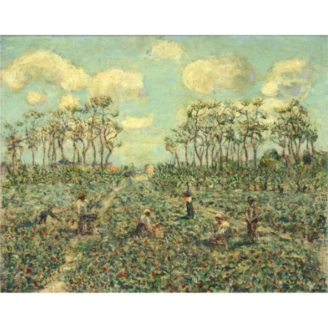 "ERNEST LAWSON ""Tomato Patch, Florida"" farm labourers various SIZES available"