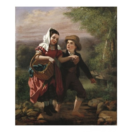"JOHN GEORGE BROWN ""The Picnic"" BROWSE our eBay SHOP! various SIZES available"