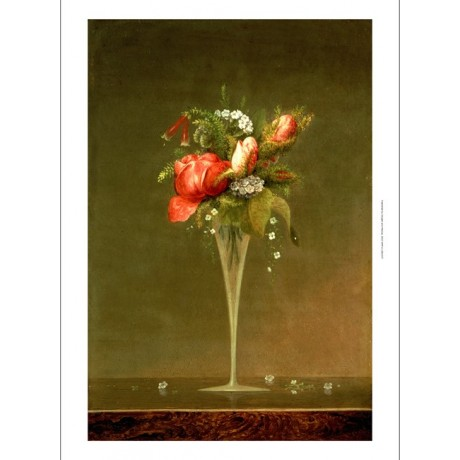 "MARTIN JOHNSON HEADE "" Wine Glass"" Still Print NEW choose your SIZE, from 55cm"