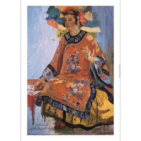 "COLIN CAMPBELL COOPER ""Study for Fortune Teller"" woman various SIZES, BRAND NEW"