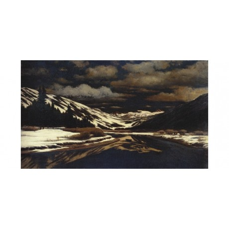 WILLIAM BRADFORD Early Winter in Sierra Nevada CANVAS! various SIZES, BRAND NEW