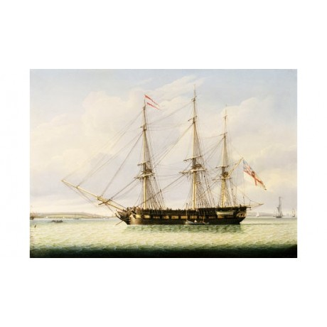 "ROBERT SALMON ""Sloop On Mersey"" Ship CANVAS EDITION various SIZES available, NEW"