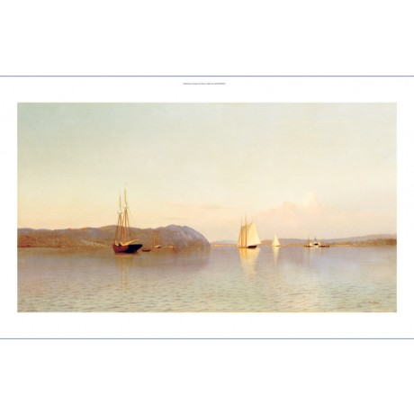 "FRANCIS A. SILVA ""Late Afternoon, Haverstraw Bay"" Print various SIZES, BRAND NEW"