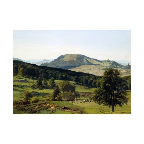 "ALBERT BIERSTADT ""Landscape - Hill And Dale"" PRINT new various SIZES, BRAND NEW"