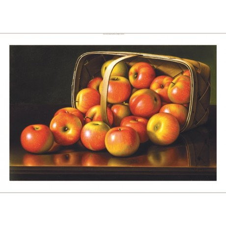 "LEVI WELLS PRENTICE ""Apples"" print NEW on CANVAS choose SIZE, from 55cm up, NEW"