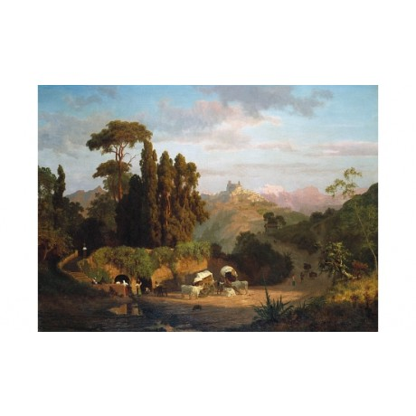 "ALBERT BIERSTADT ""Italian Mountains"" BROWSE our SHOP! various SIZES, BRAND NEW"
