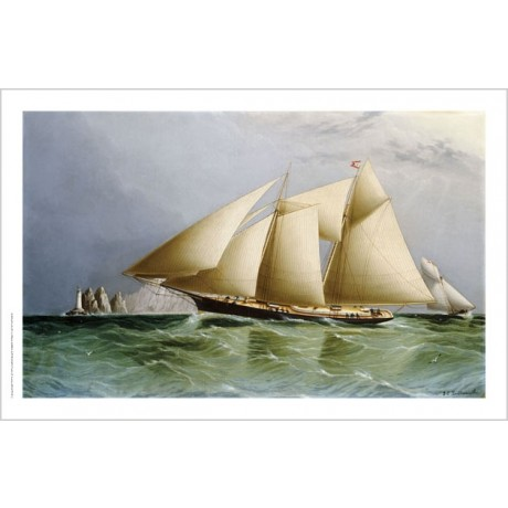 "JAMES E. BUTTERSWORTH ""Vesta Off Needles CANVAS ART various SIZES available, NEW"