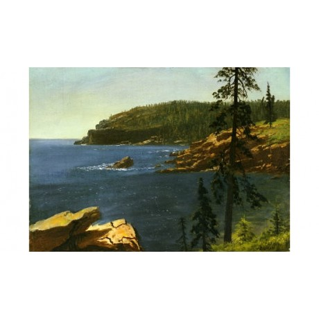 "ALBERT BIERSTADT ""California Coast"" Art Print various SIZES available"