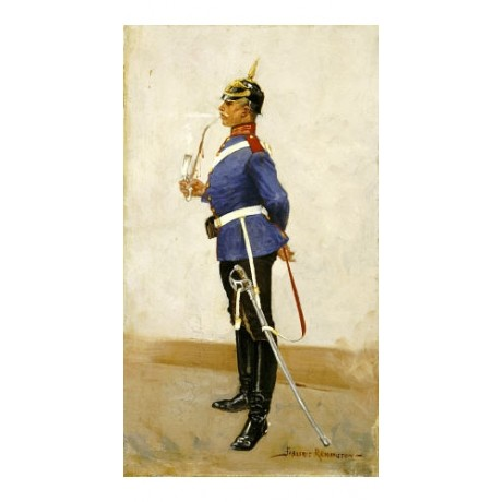 FREDERIC SACKRIDER REMINGTON Infantry Officer PRINT various SIZES available, NEW