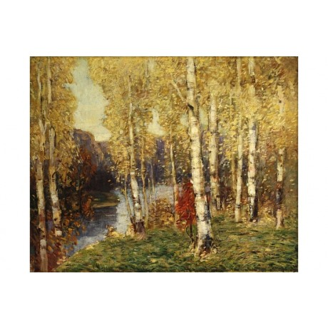 "PAUL KING ""Birches"" TREES 5000+ prints in our eBay SHOP various SIZES available"