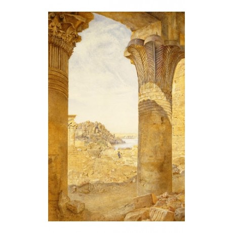 "HENRY RODERICK NEWMAN ""Among Ruins"" Egypt PRINT NEW various SIZES available, NEW"