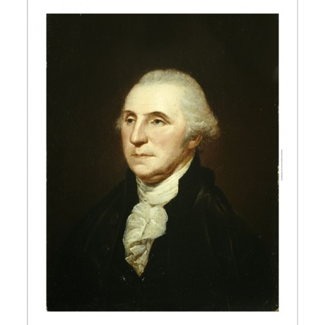 "CHARLES WILSON PEALE ""George Washington"" PRINT new choose your SIZE, from 55cm"