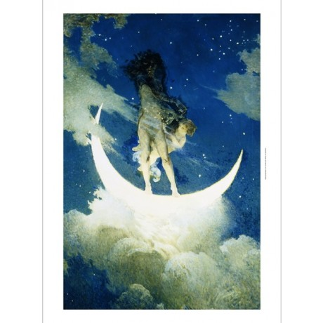 Edwin Howland Blashfield The Moon and the Stars fantasy NEW CANVAS PRINT giclee