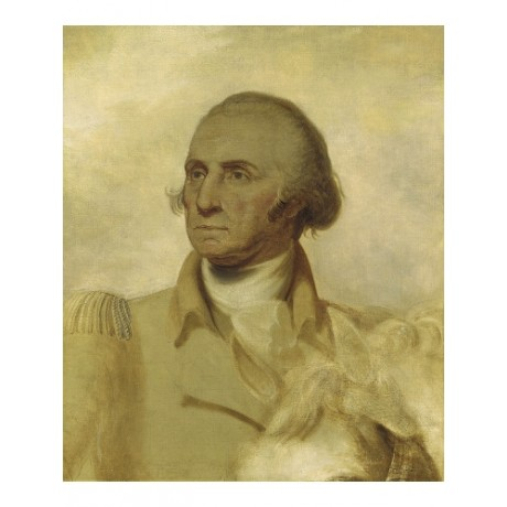 REMBRANDT PEALE George Washington Sketch CANVAS ART! various SIZES available