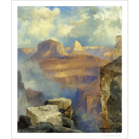 "THOMAS MORAN ""Grand Canyon"" CANVAS ART landscape choose SIZE, from 55cm up, NEW"