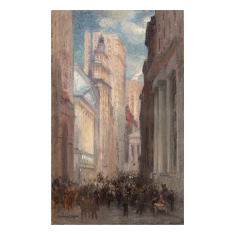 "COLIN CAMPBELL COOPER ""Wall Street"" new york finance various SIZES available"