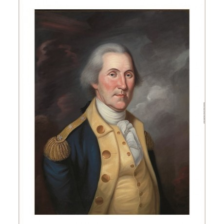 "CHARLES PEALE POLK ""George Washington"" general CANVAS various SIZES, BRAND NEW"