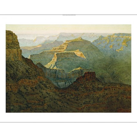 "GUNNAR WIDFORSS ""Sunlight on Grand Canyon"" new CANVAS! various SIZES, BRAND NEW"