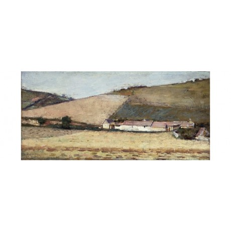 THEODORE ROBINSON Farm Among Hills Giverny new CANVAS! various SIZES, BRAND NEW