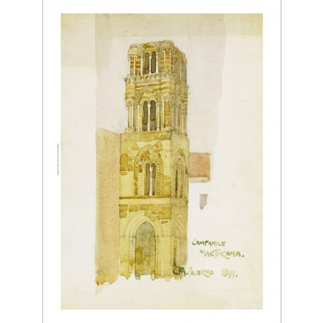 CHARLES RENNIE MACKINTOSH Palermo Church CANVAS ART ! various SIZES, BRAND NEW