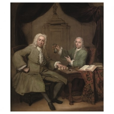 "JAN QUINKHARD ""Michiel de Roode and Jan Punt"" DECORATIVE room famous NEW CANVAS"