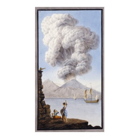 "William Hamilton ""Eruption Of Vesuvius"" canvas print various SIZES available"